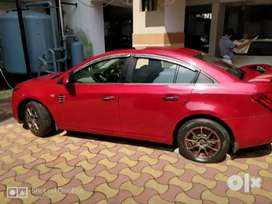 Best condition Chevrolet cruze top model with sunroof, with BMW lights