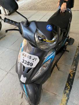 Lady driven TVS wego for sale