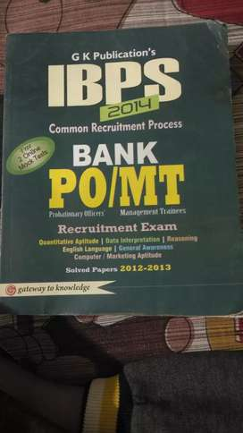 Ibps bank exams preparation book