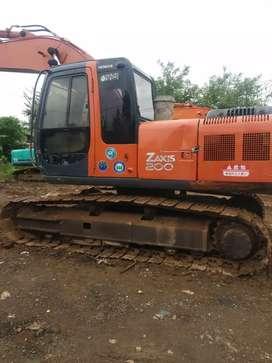 Excavator Hitachi Zaxis PC200
