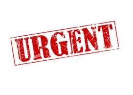 Urgent required for welder