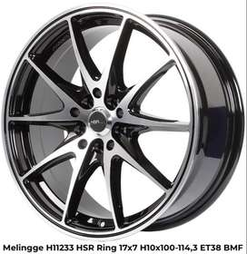 promoo MELINGGE H11233 HSR R17X7 H10X100-114,3 ET38 BMF