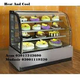 Heat And Cool Bakery Counter