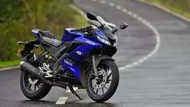 R15 v3 bike on rent