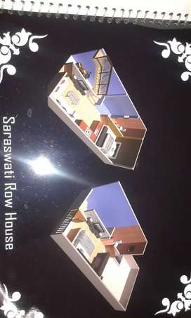 2bhk 1floor good condition newly rowhouse corner house sarasvati nagar