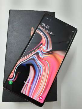 Samsung Galaxy Note 9 512gb Just 3 Months old with bill box and all