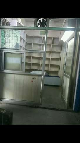 Well furnished shop in main medical market.