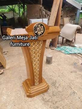 Mimbar podium talk garden D110 natural