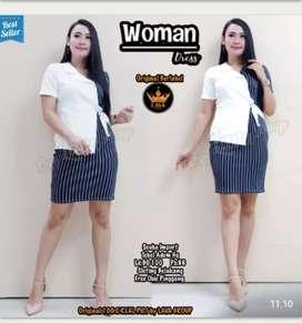 Woman dress span