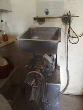 Commercial rice grinding machine
