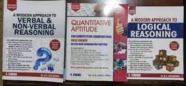 R S Aggarwal Competitive Exam 3 Book set - Quants, Verbal & Logical