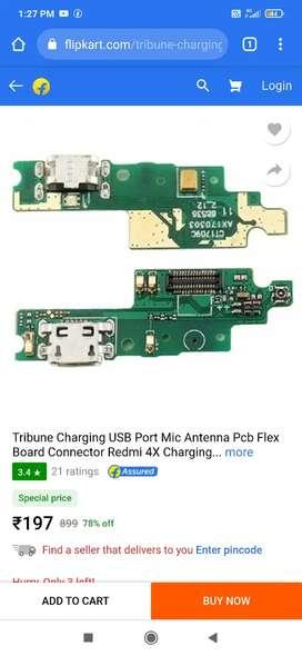 Redmi4 charging bord