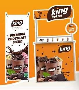 Dijual Paket Usaha Lengkap KING COKLAT PREMIUM