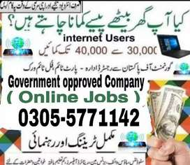 Home based and online job