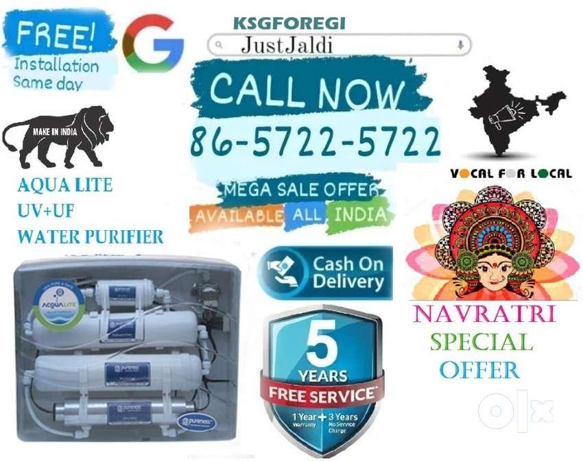 KSGFOREGI WATER purifier UF UV ultra filtration led.  FREE 5 SERVICES.