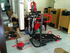 Treadmill manual 6 fungsi anti gores - Indramayu ongkir 200rb yaa
