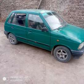 1998 model suzuki Mehran cng fitted. Family car everything is perfect.