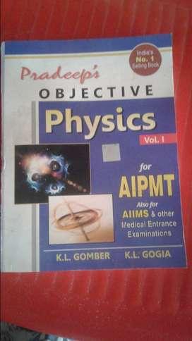 Pradeep's objective physics volume 1 and 2