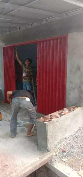 Rolling door dan folding gate