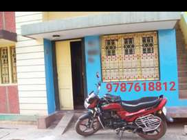 1 BHK COMPACT HOUSE FIRST FLOOR WITH ATTACHED BATHROOM FOR RENT