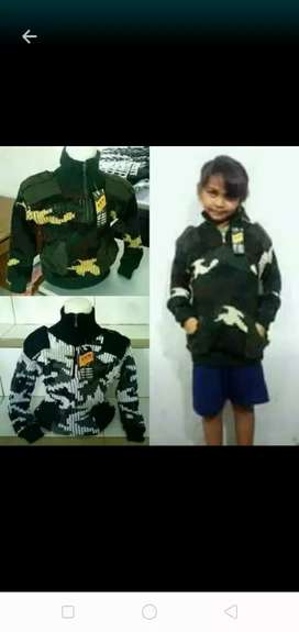 Switer tactical loreng anak