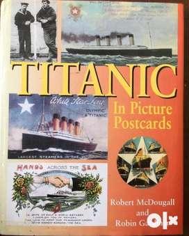 TITANIC IN PICTURE POSTCARDS- क़ीमती किताब