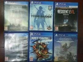 PS4. games