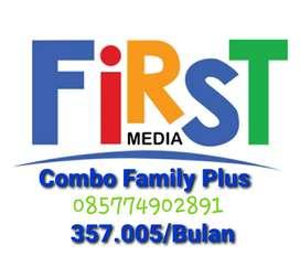 Paket Internet Combo Family Plus