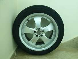 17 inch rims and 3 tyres