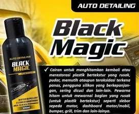 Black magic, menghitamkan kembali
