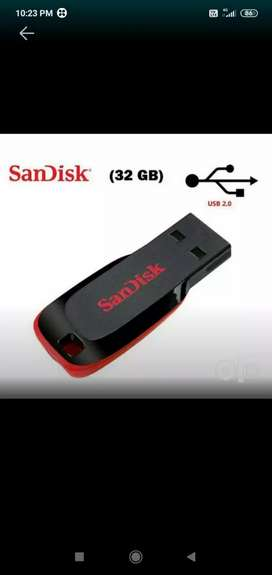 Sandisk pendrive32gb