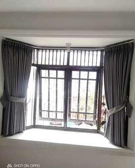 Gorden Curtain Blinds Gordyn Wallpaper Korden Tirai Hordeng A8.38heb