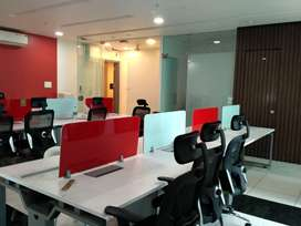 Ready To Move 20 Seater well Furnished office for Rent At New Palasiya