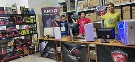 PUSAT PC Komputer Rakitan Intel dan Ryzen , buat Gaming,Editing,Desain