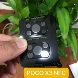 pelindung Kamera Poco X3 & X3 Pro camera protector cover tempered