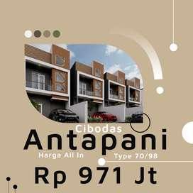 Rumah murah Antapani 3unit all-inn siapa cepat dia dapat custem desain