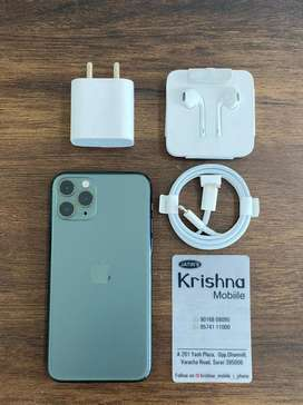 Iphone 11 pro 64gb green new available