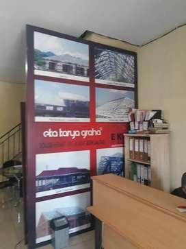 pusat buat papannama neonbox reklame akrilik sticker stiker Surakarta