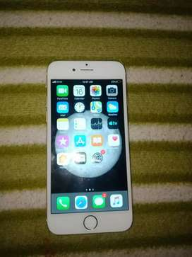 I phone 6 with 32gb good condition and finger frint