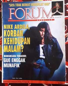 Majalahforum cover nike ardilla
