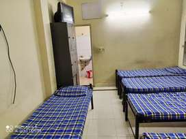 4 sharing room men's pg hostel at Tharamani with 3 time food