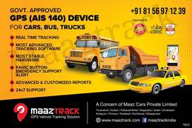 GPS TRACKER SOLUTION, GOVT APPROVED DEVICE AIS 140