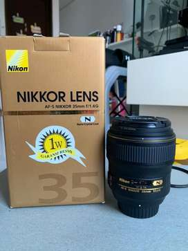 Nikon 35mm f1.4G nano coating