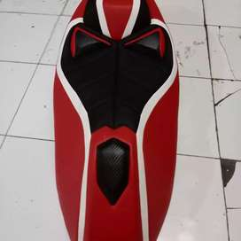 Jok honda pcx new lokal custom