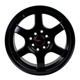 Velg Racing HSR Tokyo Ring15 Pcd8X100-1143 ET38 Semi Matt Black3