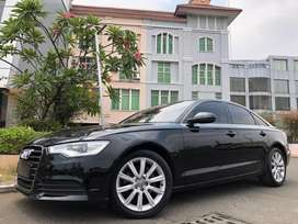 Audi A6 S-Line 2013 Nik13 Black On Saddle Brown Km30rb Antik DP Ringan