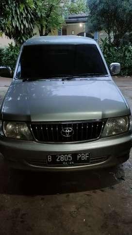 Toyota kijang LGX 2004 , gress , pajak panjang, full ori ,B DKI
