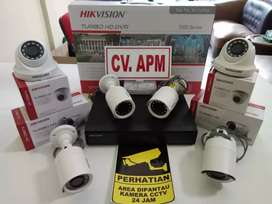 CCTV HIKVISION MURAH DVR 4CH,LENSA 2MP 1080P DI TANGERANG KOTA