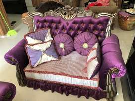 Sofa purple violet, turkey style