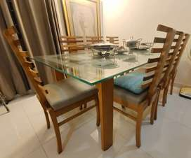 Modern design durable 8 Chairs dining table for SALE with best price